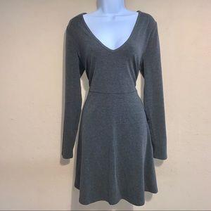 Forever 21 plus gray skater dress size 1X